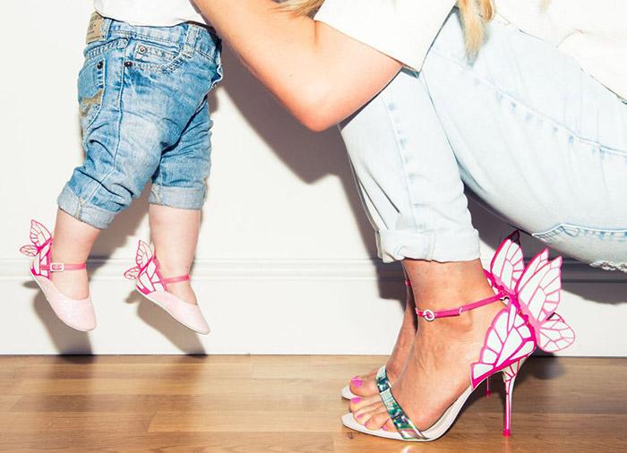 Chiara Mid Sandal Silver & Pastel