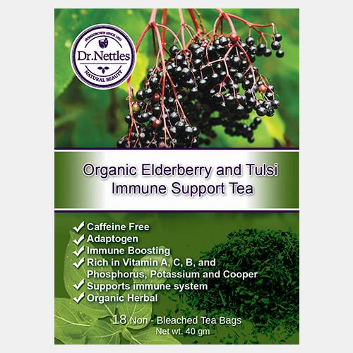 Organic Elderberry & Tulsi Immune Support Tea