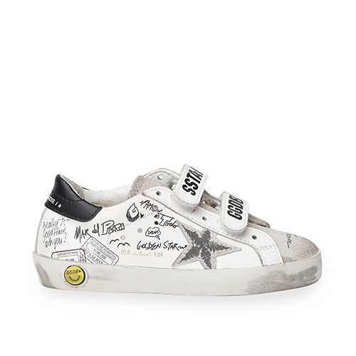 Old School Leather Journey Signature Sneakers