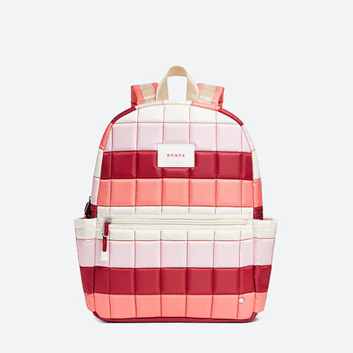 Kane Kids Nylon Pink Puffer Backpack