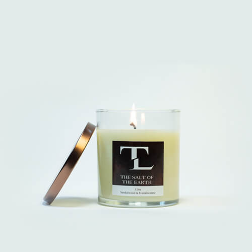 Scented Candle by The Lampley