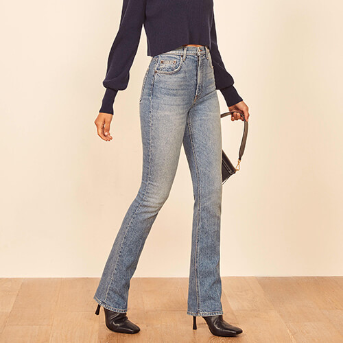 Hi-rise Bootcut by Reformation