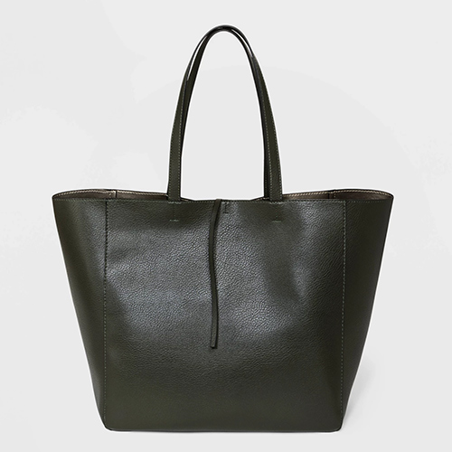 Reversible Tie Closure Tote Bag by A New Day