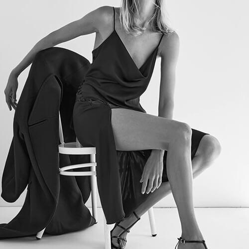 Satin Lingerie Style Dress