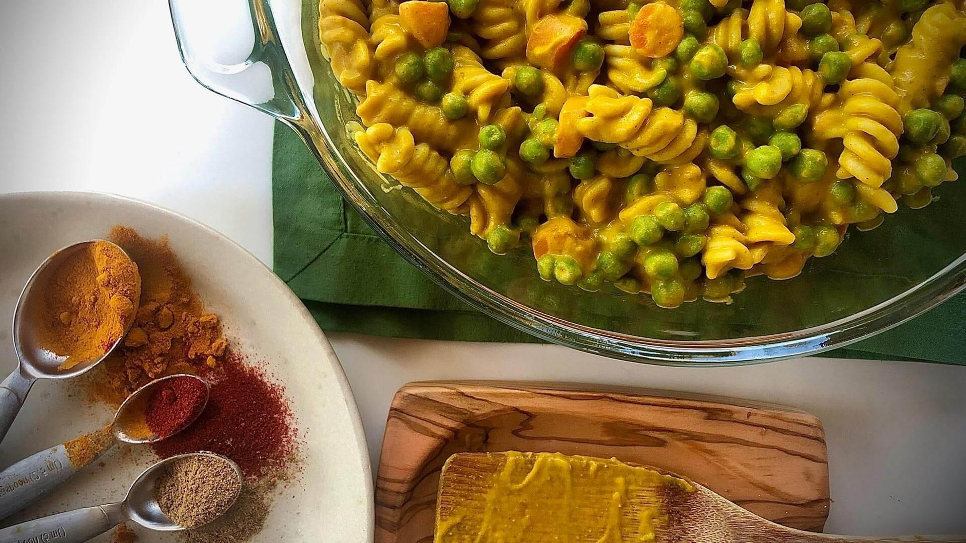 Veggie Curry Pasta